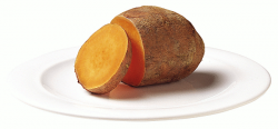 Bean clipart sweet potato