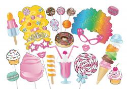 Cotton Candy clipart booth