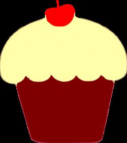 Cupcake clipart bitten