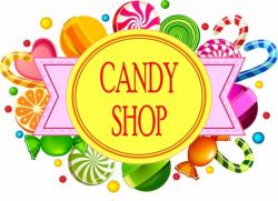 Sweets clipart round object