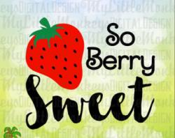Sweets clipart so berry