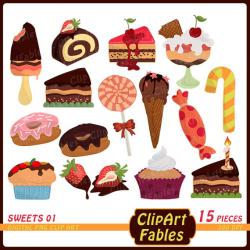 Sweets clipart sweet food