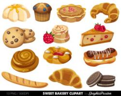 Brownie clipart bakeshop
