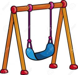 Swing clipart children's playground
