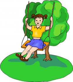 Swing clipart kids playground