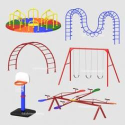 Tire Swing clipart playground