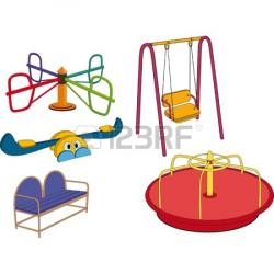 Swing clipart playground equipment