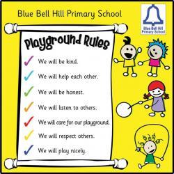 Playground clipart playground rule