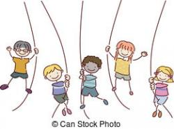Swing clipart rope swing