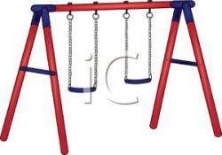 Swing clipart swing set