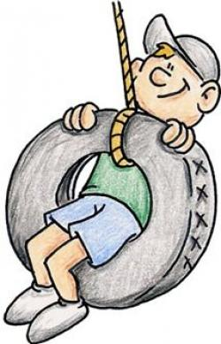 Tire Swing clipart tyre