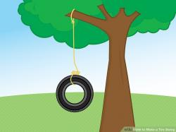 Tire Swing clipart rope swing