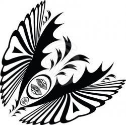 Swirl clipart art nouveau