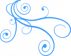 Light Blue clipart wind swirls