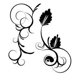 Curl clipart design vector