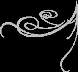 Swirl clipart gray
