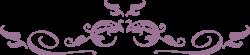 Swirl clipart lavender