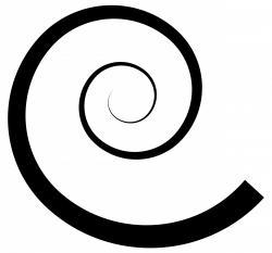 Swirl clipart spiral