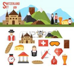 Alps clipart switzerland
