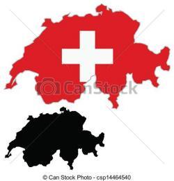 Switzerland clipart Switzerland Map