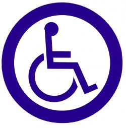 Barrier clipart physically handicapped