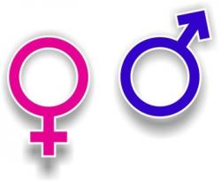 Symbol clipart male and female