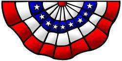 Political clipart usa flag