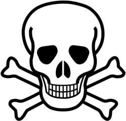 Toxic clipart hazard symbol