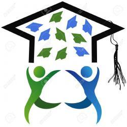 Graduation clipart academic success