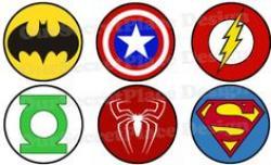 Symbol clipart super hero