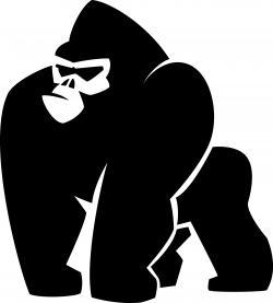 Shaow clipart gorilla