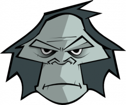 Gorilla clipart Gorilla Face Clipart