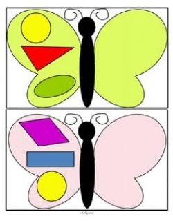 Symmetry clipart kindergarten