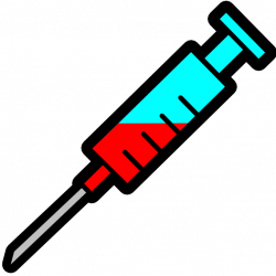 Syringe clipart cartoon