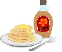Pancake clipart syrup clipart