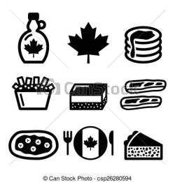 Syrup clipart canadian