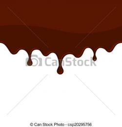 Syrup clipart melted chocolate