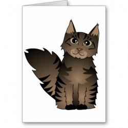 Maine Coon clipart cartoon
