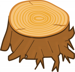 Timber clipart tree log