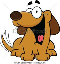 Perro clipart brown dog