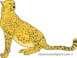 Cheetah clipart transparent