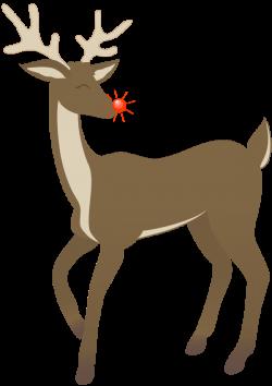Deer clipart rudolph