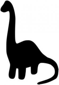 Dinosaur clipart silhouette