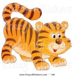 Cub clipart tiger tail