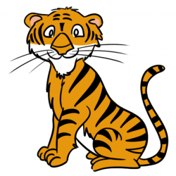 Animl clipart tiger