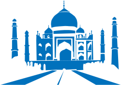 Taj Mahal clipart ancient india