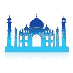 Taj Mahal clipart animated