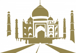Taj Mahal clipart art