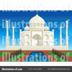 Taj Mahal clipart blue mosque