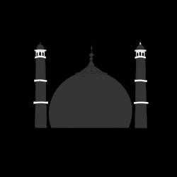 Taj Mahal clipart vector